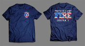FRENCH CAMP FIRE DISTRICT HANES BEEFY-T SHIRT
