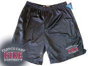 FRENCH CAMP FIRE DISTRICT CHAMPION MESH SHORTS W/ POCKETS