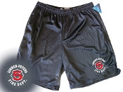 LINDEN PETERS FIRE DEPT. CHAMPION MESH POCKET SHORTS