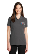 MT. SAC FIRE INSTRUCTOR LADIES GREY PIQUE POLO