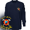 HALF MOON BAY OFFICIAL EMBROIDERED LOGO LONG SLEEVE T-SHIRT