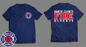 NORTH COUNTY FIRE RESERVE STATION 13 TEE