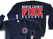NORTH COUNTY FIRE RESERVE STATION 5 SWEATSHIRT