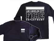 LAFD RECRUIT NAVY LONG SLEEVE TEE