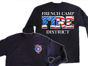 FRENCH CAMP FIRE DISTRICT LONG SLEEVE BEEFY-T SHIRT